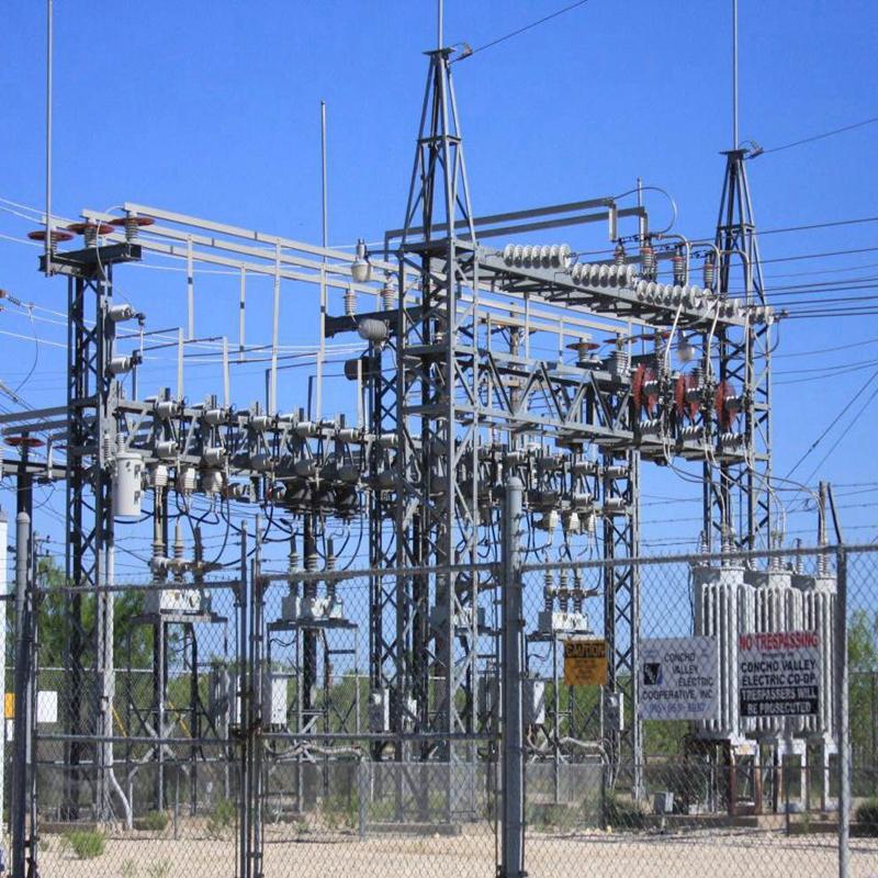 Onderstation Staalstructuur
