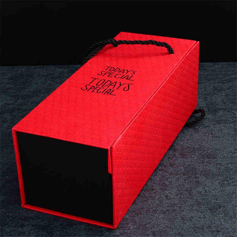 groothandel aangepast ontwerp print karton papier cadeau-opslag opvouwbare magnetische verpakking met magnetische