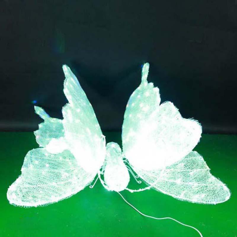 CD-LS122 3D LED-verlichte vlinder Modellering van lichte decoraties