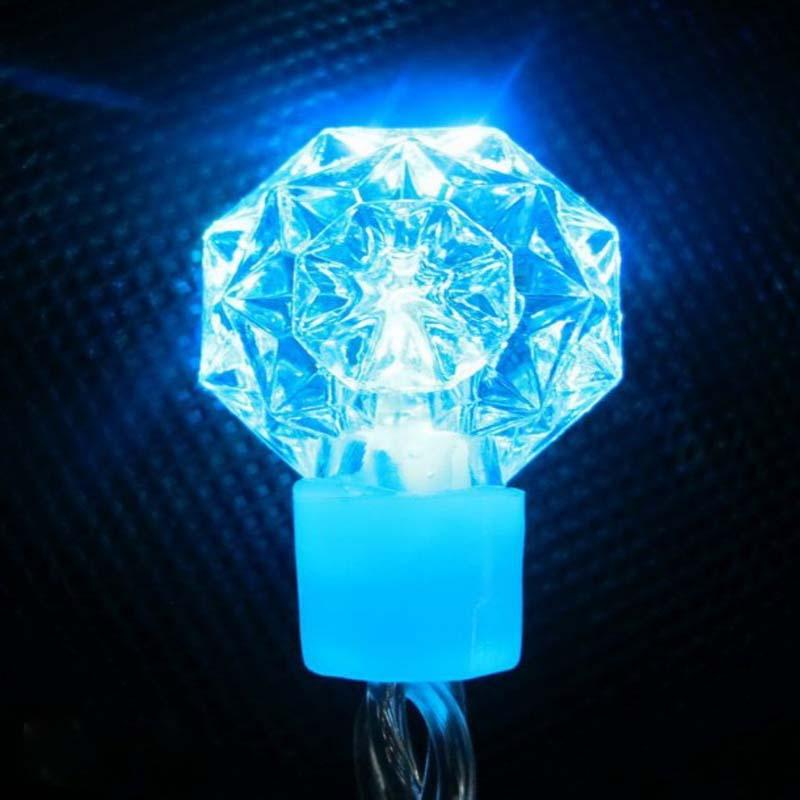 RGB LED String Lights Diamond / Snowflake Decoratieve LED Kerstverlichting