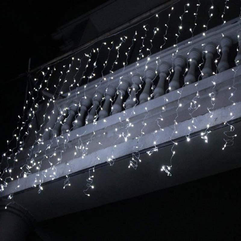 LED ijspegel Lights Kerstmis ijspegel Lights Outdoor Xmas String Lights Decoraties