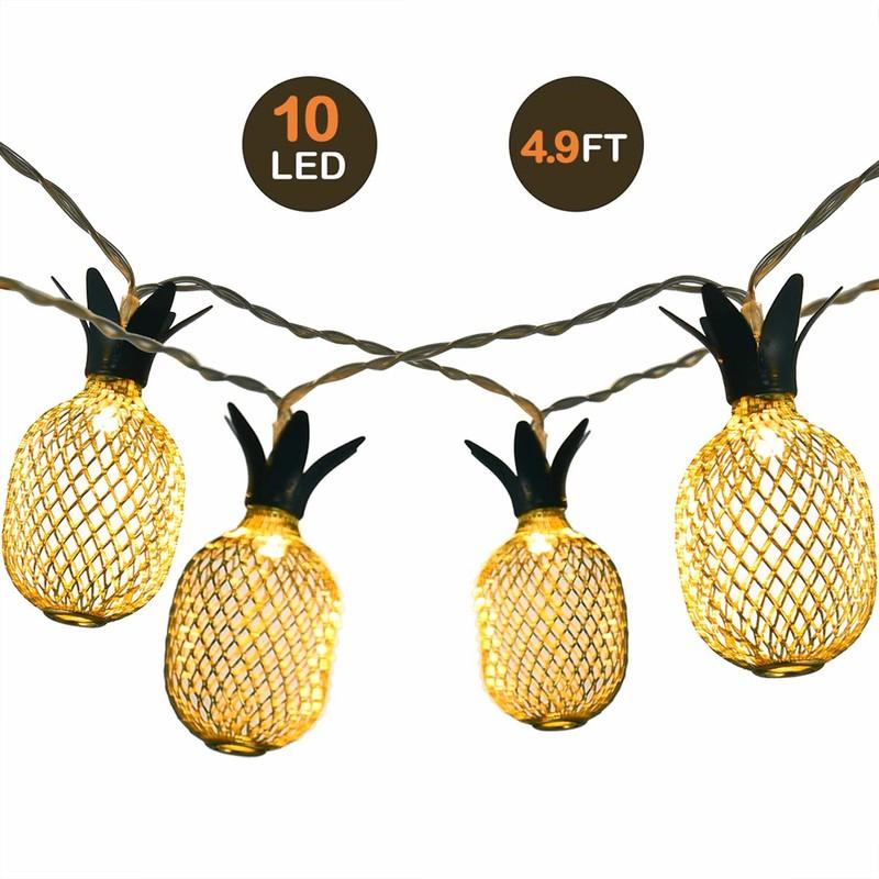 LED 灯 串 10LED Warm wit ananaslichtslinger