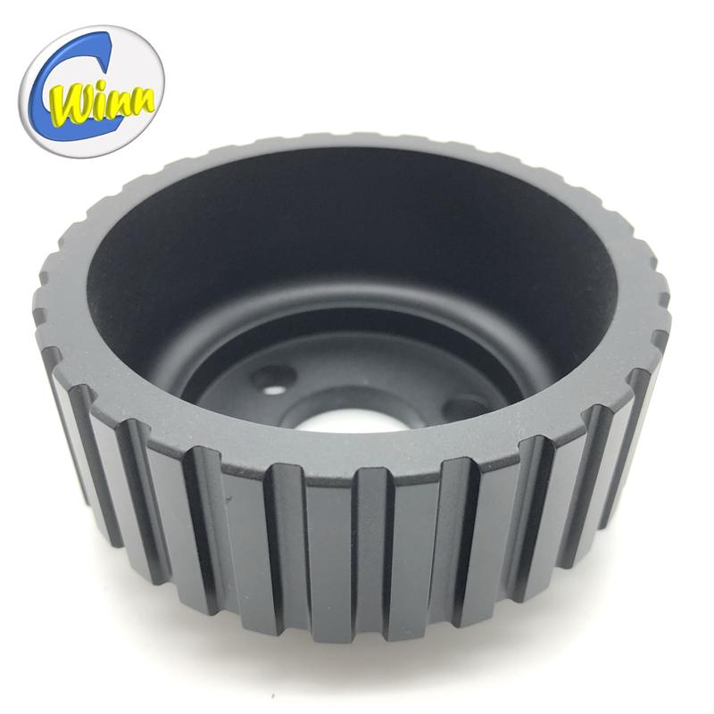 OEM / ODM CNC verspaning aluminium geschilderde katrol Auto-onderdelen Reserveonderdelen Na Verkoop Onderdelen