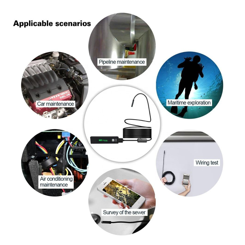 Wifi industriële endoscoop