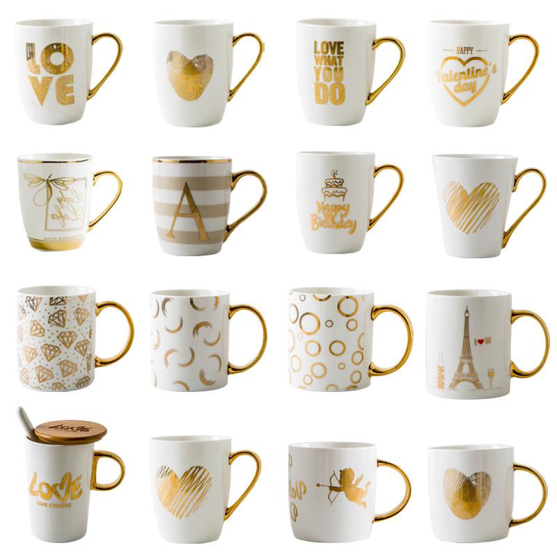 Hoge kwaliteit Costom LOGO witte keramische koffiemok