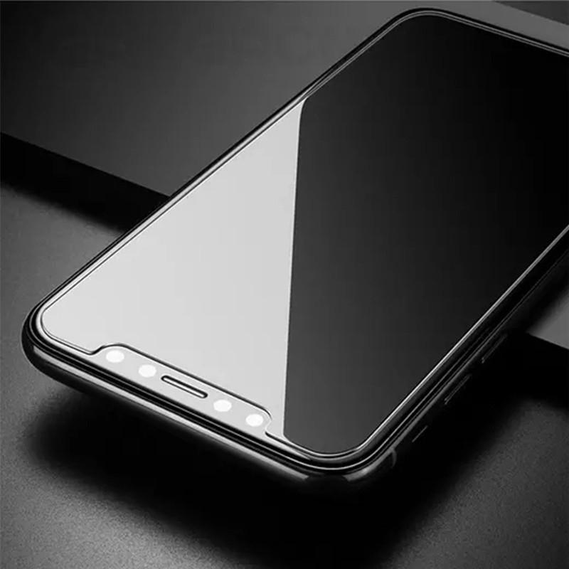 2.5D transparante schermbeschermer vos iPhone Xs / Xr / Xs Max