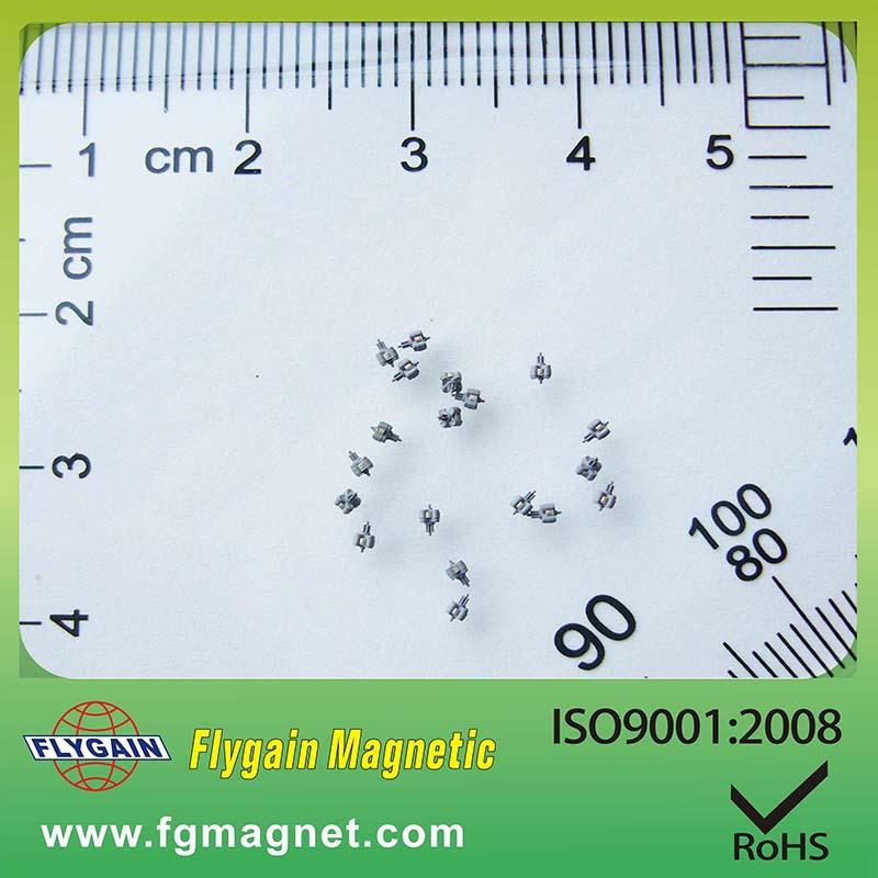Micro magneet voor horlogemotor