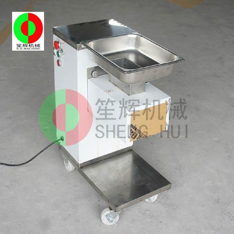 Introductie van het gebruik van de nieuwe vleessnijmachine