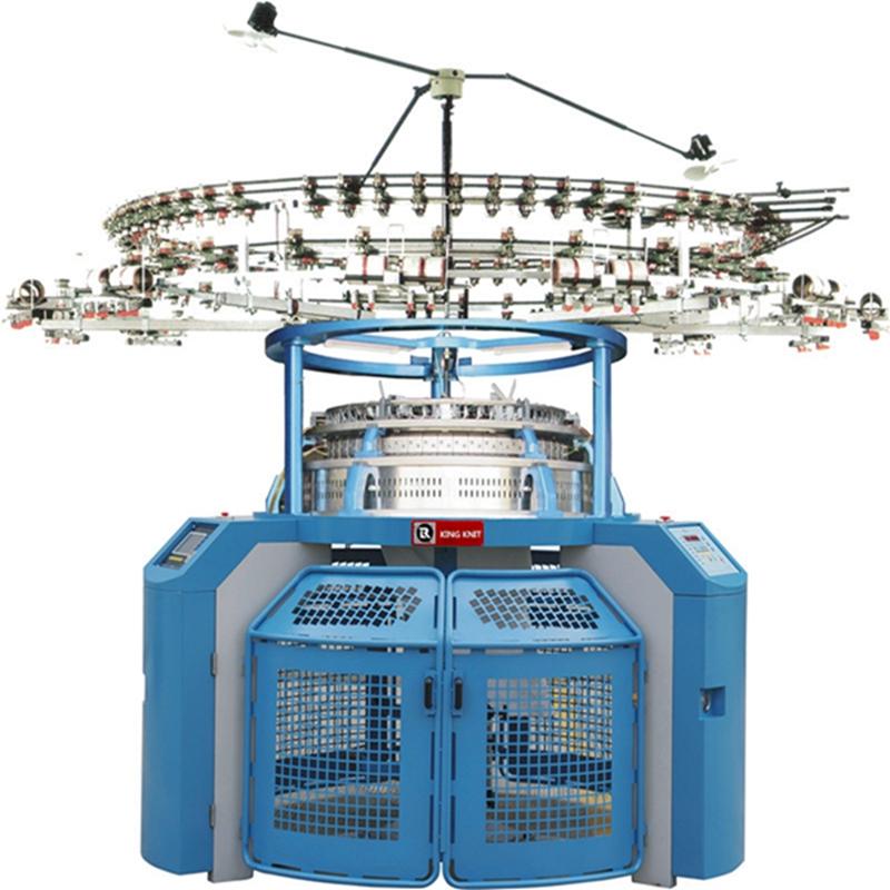 Lycra korea groz beckert naalden één trui cirkelbreimachine