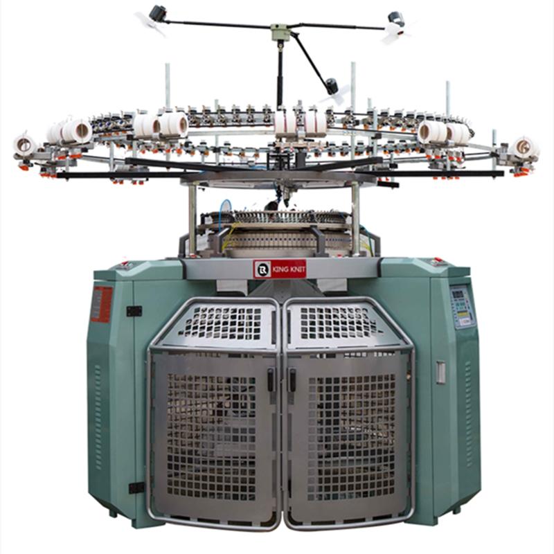 China groothandel hoge kwaliteit volledige automatische open breedte 18G-24G taiwan cirkelbreimachine