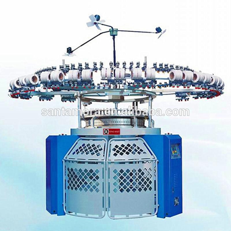Elektronische auto streep cirkelvormige breimachine met één trui