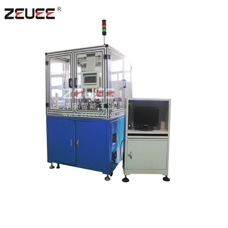 Automatische assemblageapparatuur met draaipen