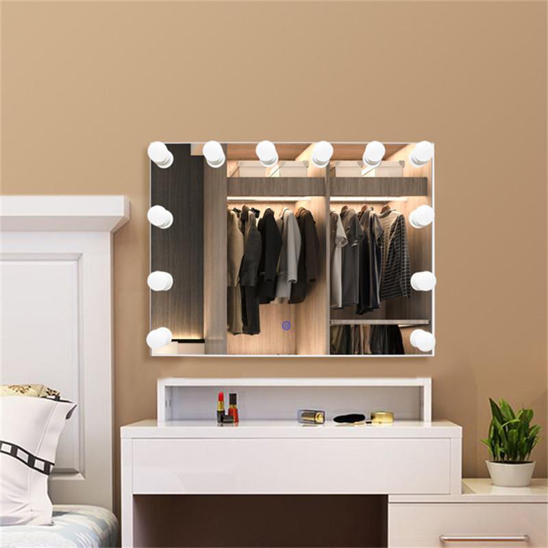 Barber Station Miroir Smart Touch LED Light Makeup Mirror