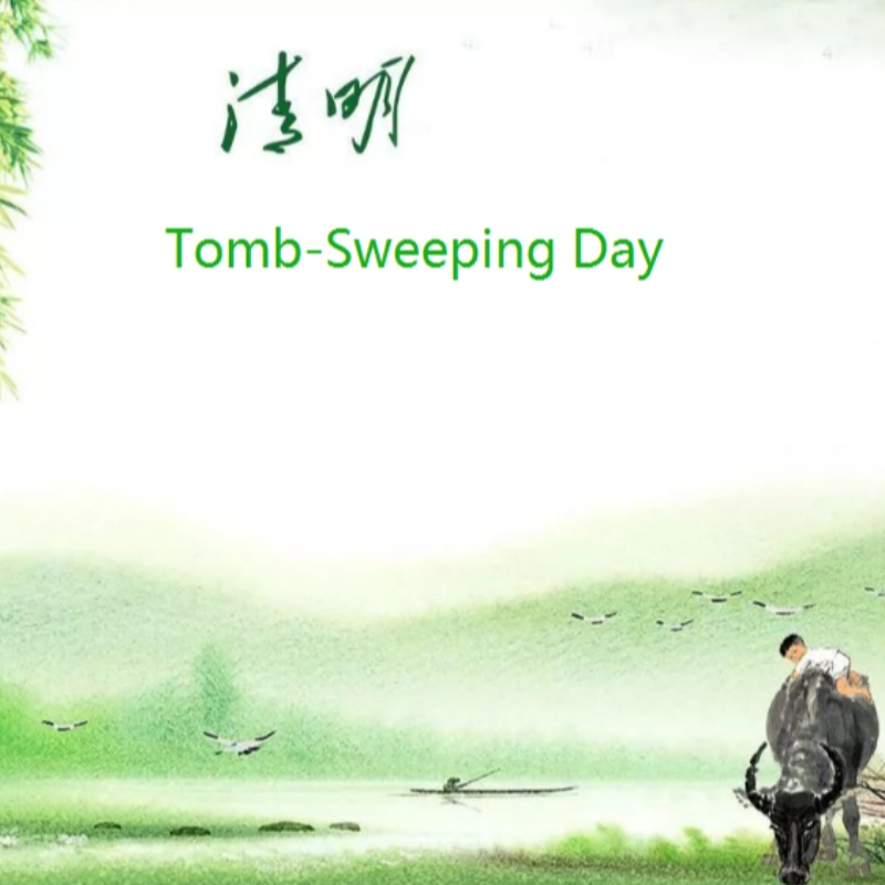 China Tomb-Sweeping Day Holiday Notice op april 2, 2020