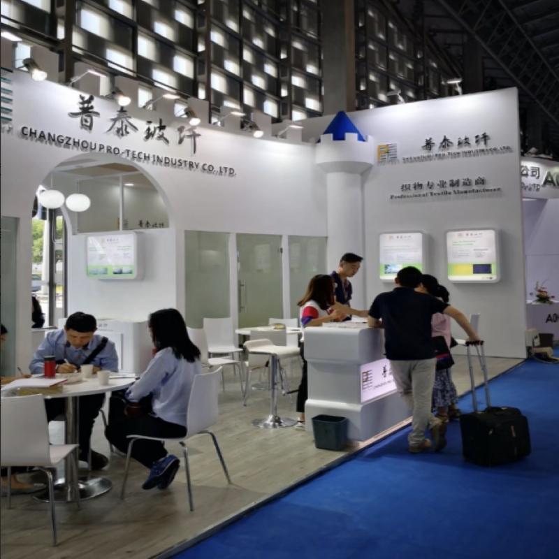 Vanaf september 5 tot 7, 2018, nam de onderneming deel aan de 24e China internationale composietmaterialen industriële technologie tentoonstelling