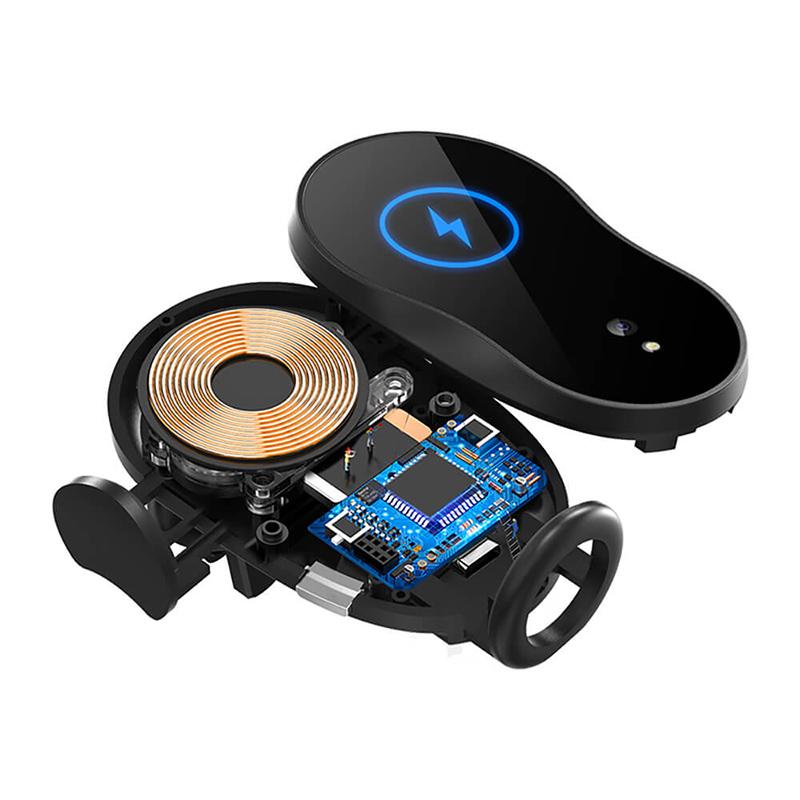 Auto Draadloze Charger 10W/15W Houder Infrarood Sensor