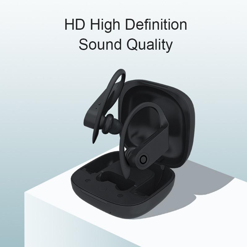 TWS Bluetooth-oortelefoon b10 HD Geluidskwaliteit Draadloos opladen