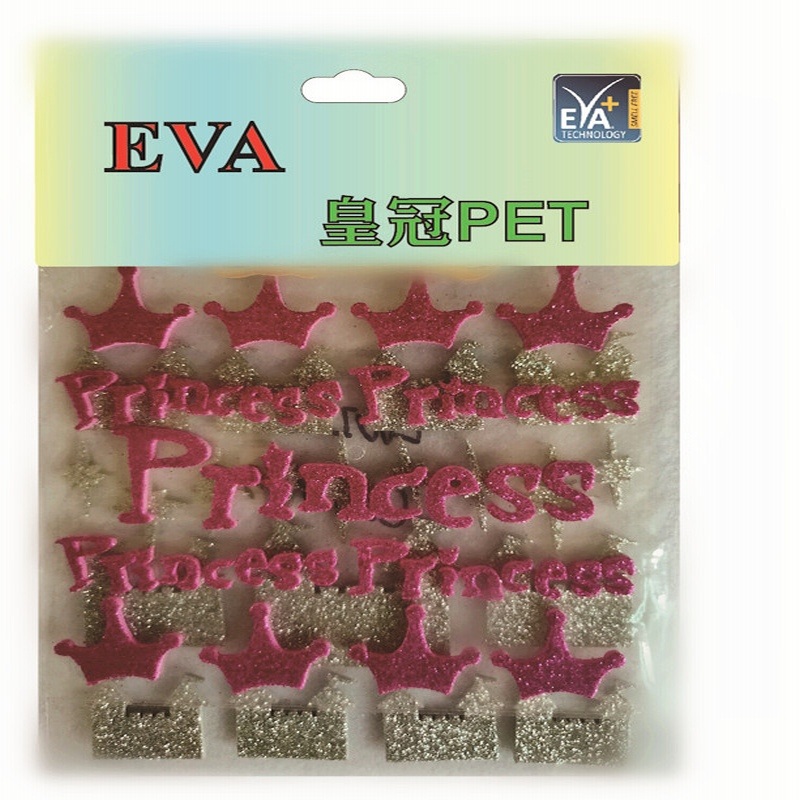 Foam stickers PET-schuim Glitter PET-schuim PET