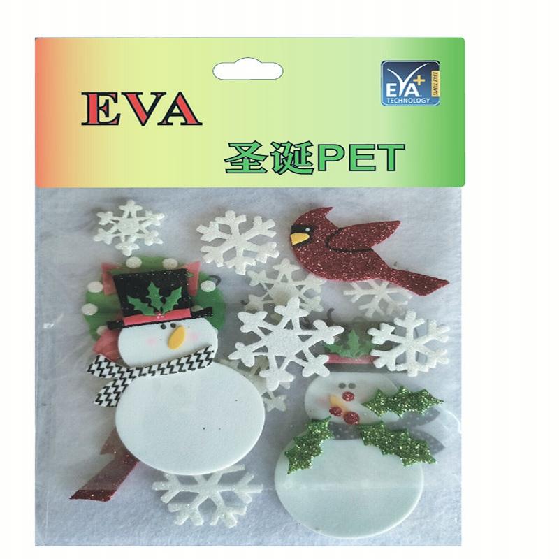 Foam Xmas PET Foam Glitter PET Foam vorm PET