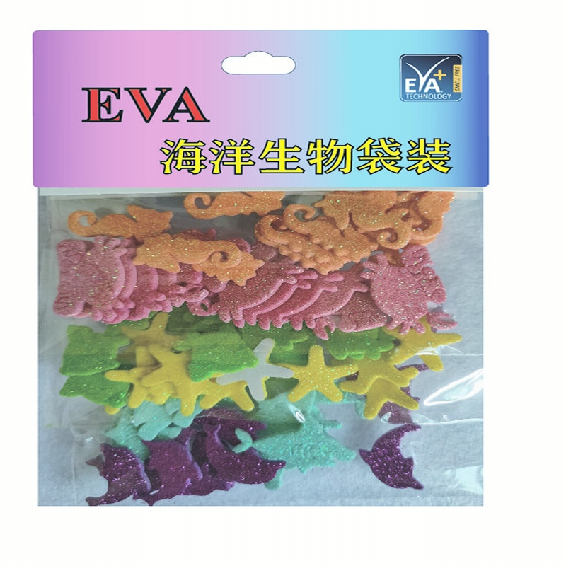 Foam stickers Foam Glitter Foam vorm