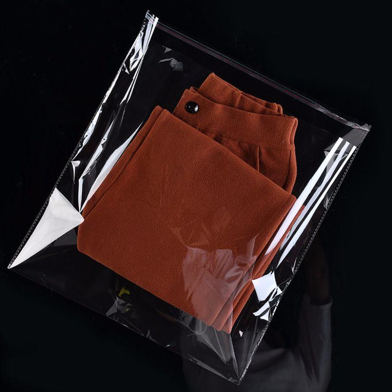 Opp hoge transparante milieubescherming kleding plastic verpakkingstas